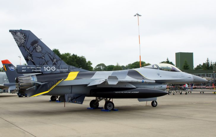 F-16AM Fighting Falcon FA132 1sm Belgian Air Component