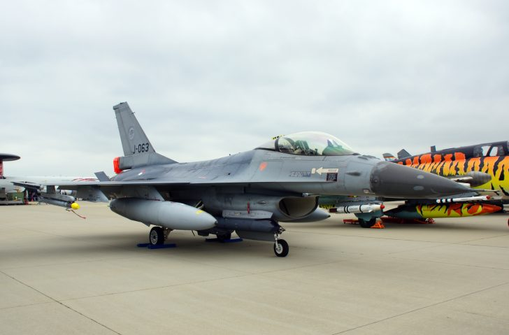 F-16AM Fighting Falcon J-063 315sq Royal Netherlands Air Force