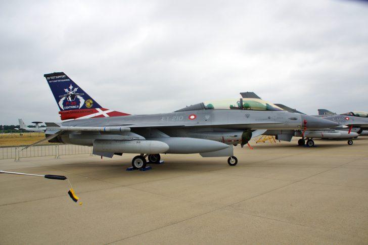 F-16BM ET-210 JSF Test Flight Danish Air Force