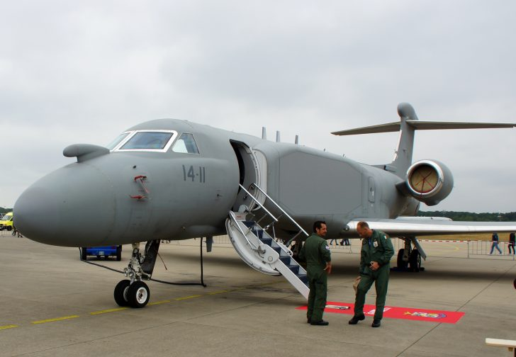 Gulfstream/IAI G550-CAEW M62293/14-11 71 Gr Italian Air Force
