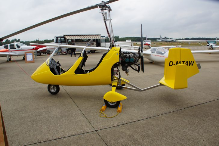Ikarus C42 Cyclone D-MTAW