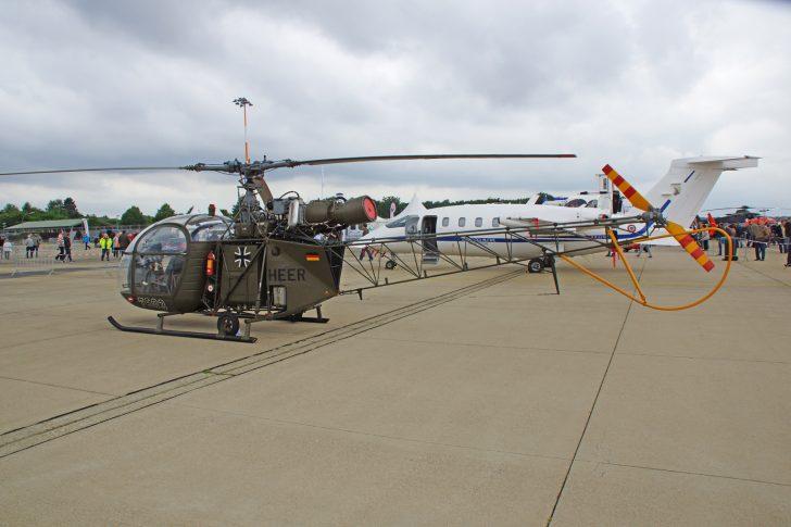 Sud Aviation SE.3130 Alouette 2 76+03 German Army