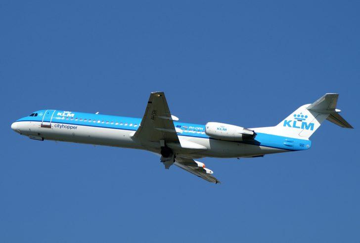 Fokker 100 PH-OFM KLM Cityhopper