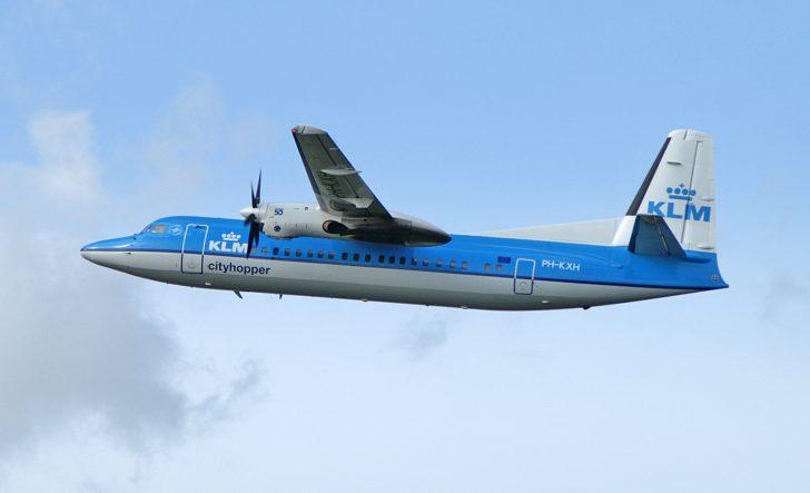 Fokker 50 PH-KXH KLM Cityhopper