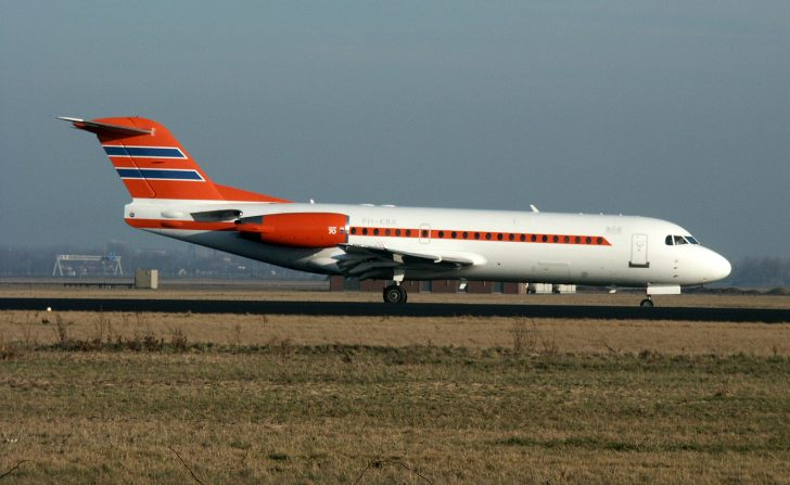Fokker 70 PH-KBX Netherlands Government