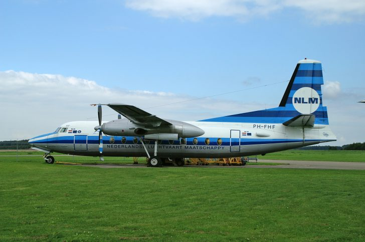 Fokker F.27-100 Friendship PH-FHF NLM - Nederlandse Luchtvaart Maatschappij (Fokker Heritage Flight)