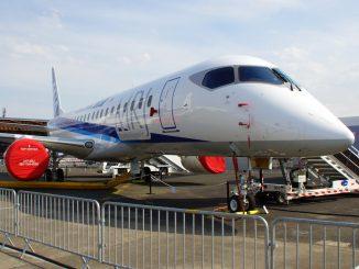 Mitsubishi MRJ-90STD JA23MJ Mitsubishi Aircraft Company/All Nippon Airways - ANA