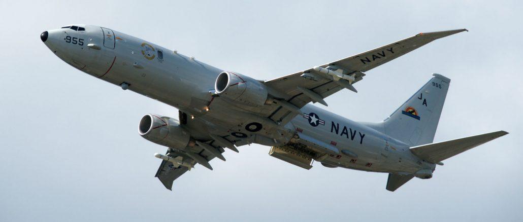 Boeing P-8A Poseidon 167955/JA-955 VX-1 US Navy