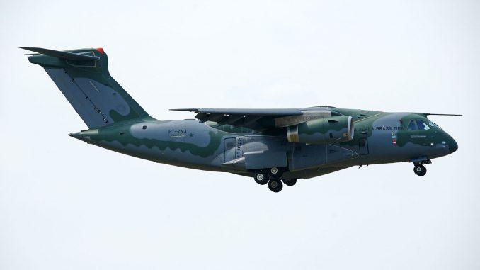 Embraer KC390 PT-ZNJ Brazilian Air Force - Embraer