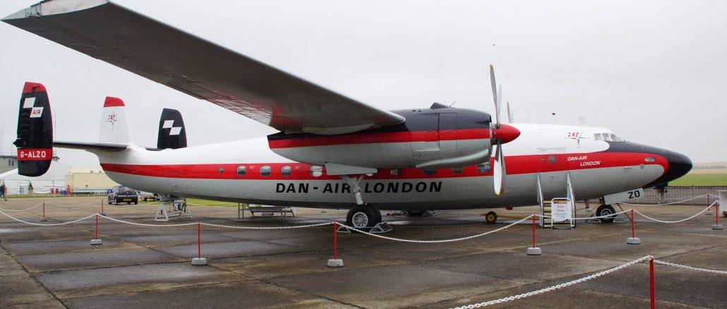 Airspeed AS-57 Ambassador 2 G-ALZO Dan - Air London, IWM Duxford